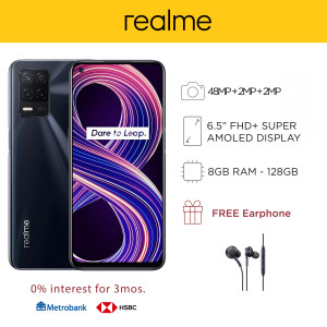 Realme 8 5G Mobile Phone 6.5-inch Screen 8GB RAM and 128GB Storage